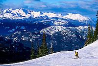 Blackcomb Mountain, Whistler Blackcomb ski resort, British Columbia, Canada