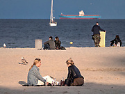 Plaża miejska w Gdyni.