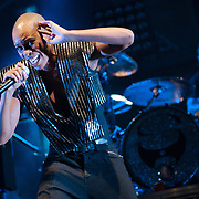 Skunk Anansie performing at the Rockhal Luxembourg, Europe on June 30, 2010