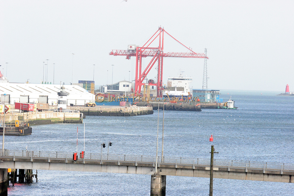 Dublin, Port, on the Liffey.