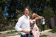 BRENDAN COLE; ZOE HOBBS, PRESS PREVIEW. The RHS Chelsea Flower Show 2011. The Royal Hospital grounds. Chelsea. London. 23 May 2011. <br /> <br />  , -DO NOT ARCHIVE-© Copyright Photograph by Dafydd Jones. 248 Clapham Rd. London SW9 0PZ. Tel 0207 820 0771. www.dafjones.com.