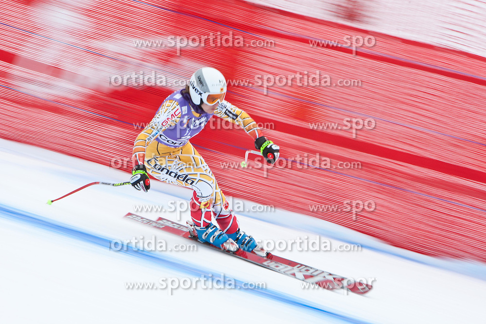 19.01.2011, Tofana, Cortina d Ampezzo, ITA, FIS World Cup Ski Alpin, Lady, Cortina, Abfahrt 1. Training, im Bild Britt Janyk (CAN, #26) // Britt Janyk (CAN) during FIS Ski Worldcup ladies downhill first training at pista Tofana in Cortina d Ampezzo, Italy on 19/1/2011. EXPA Pictures © 2011, PhotoCredit: EXPA/ J. Groder