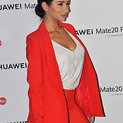 Natasha Grano attend Huawei - VIP celebration at One Marylebone London, UK. 16 October 2018.