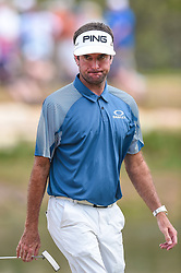 March 24, 2018 - Austin, TX, U.S. - AUSTIN, TX - MARCH 24: Bubba Watson walks across the green during the quarterfinals of the WGC-Dell Technologies Match Play on March 24, 2018 at Austin Country Club in Austin, TX. (Photo by Daniel Dunn/Icon Sportswire) (Credit Image: © Daniel Dunn/Icon SMI via ZUMA Press)