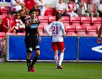 Fotball , <br /> Adeccoligaen , <br /> Fredrikstad Stadio , <br /> FFK - Bryne , <br /> 18.07.10 , <br /> Brynes Marius Helle ,<br /> Foto: Christoffer Andersen / Digitalsport ,