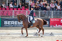 BALKENHOL Anabel (GER), FRH Davinia la Douce<br /> Münster - Turnier der Sieger 2019<br /> PRIZE OF KAPPEL HIBERNIA GmbH & Co.KG<br /> Grand Prix de Dressage <br />  Wertung zu MEGGLE Champion of Honour <br /> 01. August 2019<br /> © www.sportfotos-lafrentz.de/Stefan Lafrentz