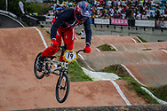 #19 (POSEY Justin) USA at the 2016 UCI BMX World Championships in Medellin, Colombia.