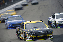 July 22, 2018 - Loudon, New Hampshire, United States of America - David Ragan (38) battles for position during the Foxwoods Resort Casino 301 at New Hampshire Motor Speedway in Loudon, New Hampshire. (Credit Image: © Justin R. Noe Asp Inc/ASP via ZUMA Wire)