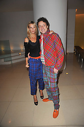 EMMA WOOLLARD and JEREMEY HEALEY at a Burns Night dinner in aid of cancer charity CLIC Sargent held at St.Martin's Lane Hotel, London on 25th January 2011.
