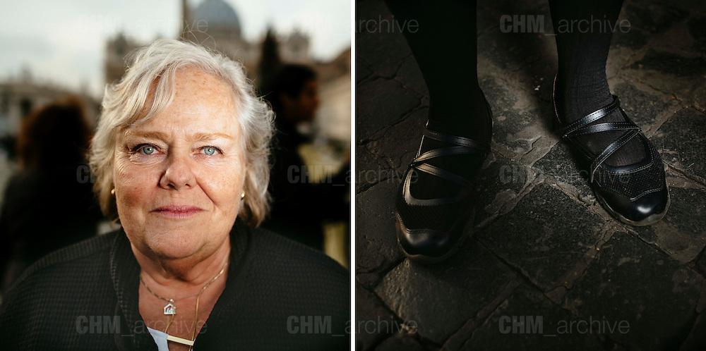 Joyce. 60 years old. DesMoiness, Aiwa, USA<br /> Rome 09 December 2015. Christian Mantuano / OneShot