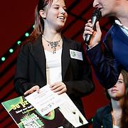 NLD/Scheveningen/20121030 - Uitreiking Talent voor Taal 2012 prijs, 3de prijswinnares Annabel van Oort