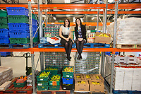 No repro fee<br /> 24/10/2016<br /> Picture shows from left FoodCloud co-founders Iseult Ward and Aoibheann O'Brien at the launch of the FoodCloud Hub in Tallaght, Dublin 24. At the launch it was announced that Bia Food Initiative and FoodCloud are coming together. Working with their partners in the food, retail and charity sectors FoodCloud and FoodCloud Hubs will redistribute 4,000 tonnes of food across Ireland in 2017.Pic:Naoise Culhane-no fee