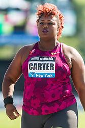 Michelle, Carter, shot put, adidas Grand Prix Diamond League track and field meet