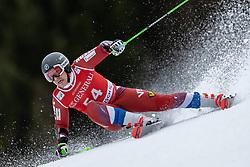 02.02.2020, Kandahar, Garmisch, GER, FIS Weltcup Ski Alpin, Riesenslalom, Herren, 1. Lauf, im Bild Aleksander Andrienko (RUS) // Aleksander Andrienko of Russian Federation in action during his 1st run of men's Giant Slalom of FIS ski alpine world cup at the Kandahar in Garmisch, Germany on 2020/02/02. EXPA Pictures © 2020, PhotoCredit: EXPA/ Johann Groder
