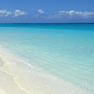Serene water, on the Caribbean island of Nevis in the Lesser Antilles archipelago.