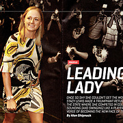 Profile for Sports Illustrated on Stacy Lewis, LPGA star and top female golfer in the world.