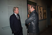 THE EARL OF SPENCER; JOHNNIE SHAND KYDD, Vogue100 A Century of Style. Hosted by Alexandra Shulman and Leon Max. National Portrait Gallery. London. WC2. 9 February 2016.