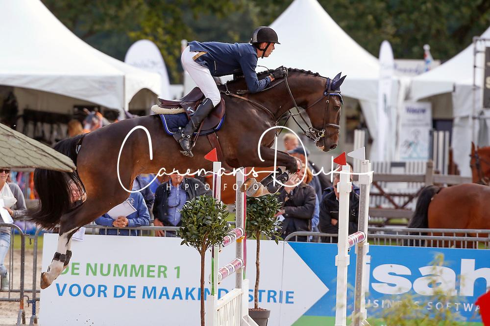 251 - Van Mierlo Maikel - Earley<br /> 5 Jarige Springen<br /> KWPN Paardendagen - Ermelo 2014<br /> © Dirk Caremans
