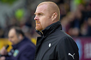 Burnley Manager Sean Dyche during the The FA Cup 3rd round match between Burnley and Barnsley at Turf Moor, Burnley, England on 5 January 2019.