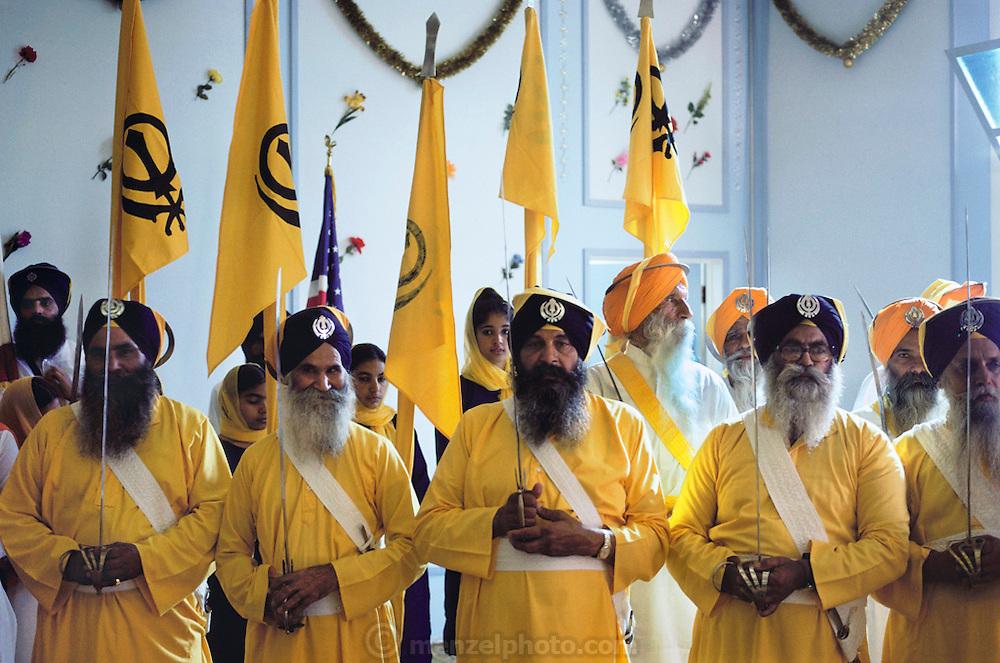 Sikh temple, Yuba City, California.