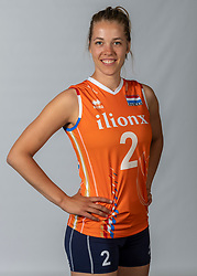 10-05-2018 NED: Team shoot Dutch volleyball team women, Arnhem<br /> Femke Stoltenborg #2 of Netherlands