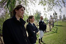 Van Roosbroeck Catherine en Maurice (BEL)<br /> CSIO Lummen 2009<br /> Photo © Dirk Caremans