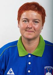Alenka Irsic of Slovenian Paralympic team for London 2012 on June 20, 2012 in Ljubljana, Slovenia. (Photo by Vid Ponikvar / Sportida.com)