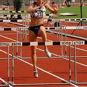Arenagames 2004, 110 meter horden vrouwen, Yvonne Wisse (235)