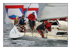 The Brewin Dolphin Scottish Series, Tarbert Loch Fyne..Day 3 Good racing conditions on all fleets...Sigma National Champion GBR4270 Sigmatic CCC/HSC Donald Mclaren.