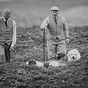 The head gamekeepers Gavin Hannam and the under keeper John Carslake of Glen Lethnot estate make the final checks and preparations <br /> in the build up  to the Glorious 12th, the official start of the red grouse shooting season (this year Monday 13th August)  ANGUS, SCOTLAND AUG 10 <br /> <br /> The Glorious Twelfth is usually used to refer to August 12, the start of the open season for grouse shooting in the United Kingdom. This is one of the busiest days in the shooting season, with large amounts of game being shot. It is also a major boost to the rural economy. <br /> <br /> Since the start of the season traditionally does not begin on a Sunday, it is sometimes postponed to August 13, as in 2001 . In recent years, the event has been hit by hunt saboteurs, the 2001 foot and mouth crisis (which further postponed the date in affected areas ) and the effect of sheep tick and the gut parasite Trichostrongylus tenius.<br /> <br /> The Game Conservancy Trust conducts scientific research into Britain's game and wildlife. Advising farmers and landowners on improving wildlife habitat and lobbying for agricultural and conservation policies based on science.<br /> Many of their  supporters take part in field sports.