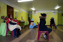 The City of Cape Town opened a clinic extension in the Elsies River Library, to serve mothers and children with routine visits such as family planning and immunizations, today, Monday, July 13, 2020. Clinic extensions are being constructed to separate COVID-19 treatment and diagnosis from other treatments. PHOTO: EVA-LOTTA JANSSON