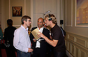 Tim Taylor, Guy Dellal, Angel: Roan Beentjes, Silent auction of works by leading artists to celebrate ArtangelÍs 10th birthday. the Old Sierra Leonne Embassy, 33, Portland Place. 7 June 2003. © Copyright Photograph by Dafydd Jones 66 Stockwell Park Rd. London SW9 0DA Tel 020 7733 0108 www.dafjones.com