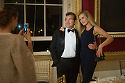 DENIS KOGANOVICH; KRISTINA TALVET Professor Mikhail Piotrovsky Director of the State Hermitage Museum, St. Petersburg and <br /> Inna Bazhenova Founder of In Artibus and the new owner of the Art Newspaper worldwide<br /> host THE HERMITAGE FOUNDATION GALA BANQUET<br /> GALA DINNER <br /> Spencer House, St. James's Place, London<br /> 15 April 2015