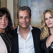"""NLD/Amsterdam/20130613 - Presentatie erotische triller """" Kamer 303 """" van Claudia Schoemacher - van Zweden, met Amanda Beekman en part Robert Schoemacher"""
