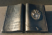 Memorial book at Monument of Independence,  Almaty, Kazakhstan