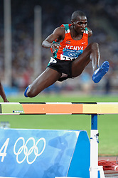 Ezekiel Kemboi KEN in action during Olympics Games Athletics day 12 on August 24, 2004 in Olympic Stadion Spyridon Louis, Athens.