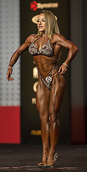 Sept.16, 2016 - Las Vegas, Nevada, U.S. -  BOJANA VASILIJEVIC competes in the Figure Olympia contest during Joe Weider's Olympia Fitness and Performance Weekend.(Credit Image: © Brian Cahn via ZUMA Wire)