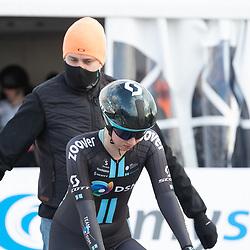 11-03-2021: Wielrennen: Healthy Ageing Tour: Lauwersoog. <br />Pfeiffer Georgi