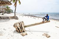 Mombasa Marine Protected Area beach front, Kenya