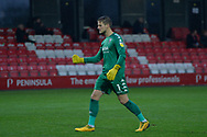 GOAL 2-0 Vaclav Hladky during the EFL Sky Bet League 2 match between Salford City and Bradford City at the Peninsula Stadium, Salford, United Kingdom on 21 November 2020.