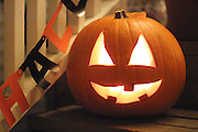 Pumpkin ready for Halloween.<br /> Barry Wong / The Seattle Times