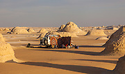 "4X4 Camp amongst El-Khiyam ""The Tents"",  Sahara Beida (White Desert), Egypt"
