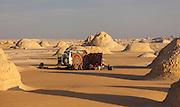"4X4 Camp amongst El-Khiyam ""The Tents"",  Sahara Beida (White Desert), Egypt"