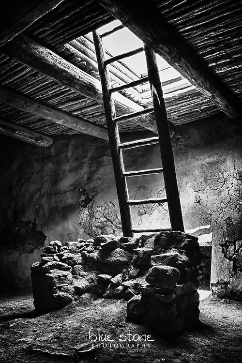 A kiva, or ceremonial chamber, in black and white evokes a respectful and meditative silence.<br /> <br /> Wall art is available in metal, canvas, float wrap and standout. Art prints are available in lustre, glossy, matte and metallic finishes.