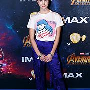 NLD/Amsterdam/20180425 - Première The Avengers: Infinity War, ·Shalisa van der Laan