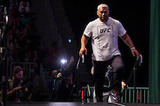 LAS VEGAS, NV - JULY 8:  Mark Hunt walks to the scale during the UFC 200 weigh-ins at T-Mobile Arena on July 8, 2016 in Las Vegas, Nevada. (Photo by Cooper Neill/Zuffa LLC/Zuffa LLC via Getty Images) *** Local Caption *** Mark Hunt