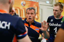 20170524 NED: 2018 FIVB Volleyball World Championship qualification, Koog aan de Zaan<br />Gido Vermeulen, headcoach of The Netherlands <br />©2017-FotoHoogendoorn.nl / Pim Waslander