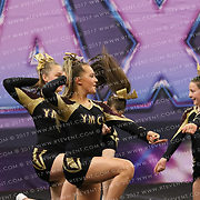 1145_Yorkshire Martyrs Cheerleading Squad - Gold Stars Supreme