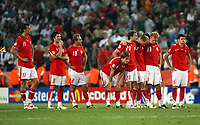 Photo: Chris Ratcliffe.<br /> Switzerland v Ukraine. 2nd Round, FIFA World Cup 2006. 26/06/2006.<br /> Switzerland is gutted watching the penalty shoot out.