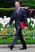 © Licensed to London News Pictures. 21/05/2013. Westminster, UK. Dominic Grieve QC, Conservative MP, Attorney General. Ministers arrive for a Cabinet meeting at Downing Street today 21 May 2013. Photo credit : Stephen Simpson/LNP